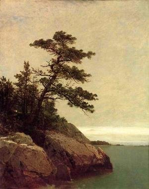 John Frederick Kensett - The Old Pine, Darien, Connecticut