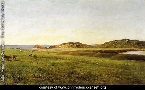 Landscape with Sea: Paradise Rocks, Newport, Rhode Island