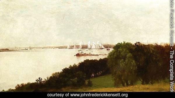 Newport Harbor and the Home of Ida Lewis