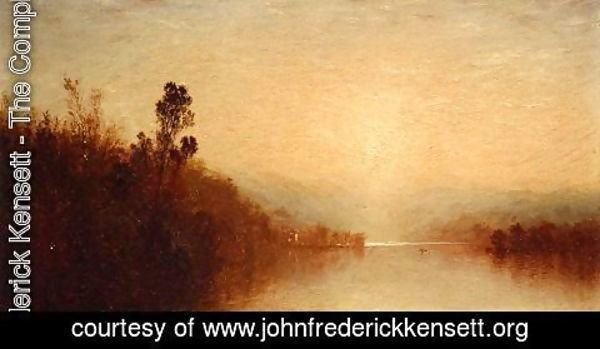 John Frederick Kensett - View of Lake George