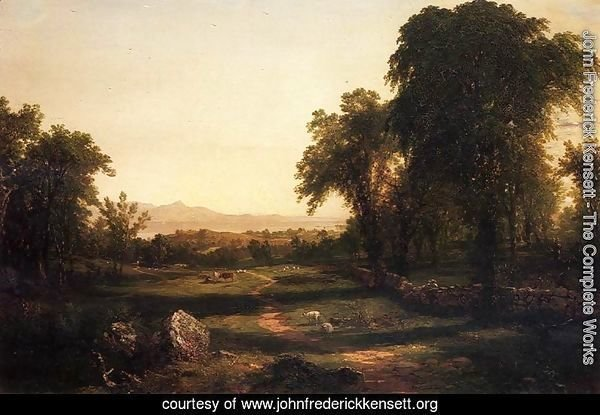 Path over the Field - A Reccollection of the Hudson