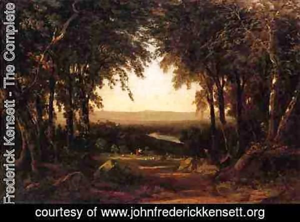 John Frederick Kensett - View from Richmond Hill