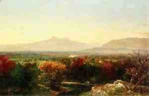John Frederick Kensett - October Day in the White Mountains