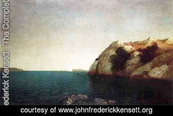 John Frederick Kensett - Marine off Big Rock