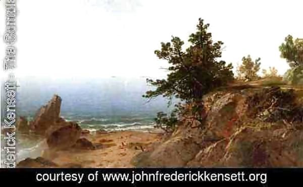 John Frederick Kensett - On the Beverly Coast, Massachusetts