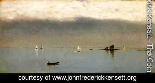 John Frederick Kensett - Passing Off of the Storm 2