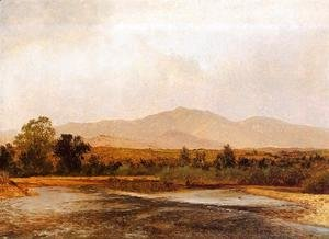 John Frederick Kensett - On the St. Vrain, Colorado Territory