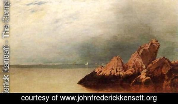 John Frederick Kensett - Along the Shore