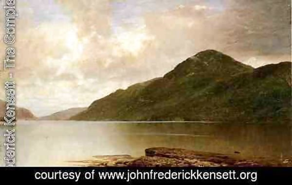 John Frederick Kensett - Black Mountain, Lake George