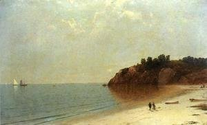 John Frederick Kensett - On the Coast