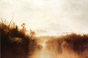 John Frederick Kensett - Mountain Lake
