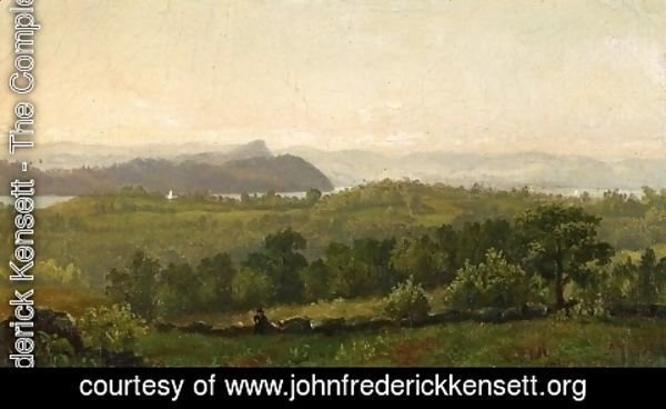 John Frederick Kensett - Hudson River Looking towards Haverstraw