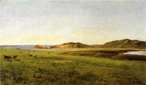 Landscape with Sea, Paradise Rocks, Newport, Rhode Island