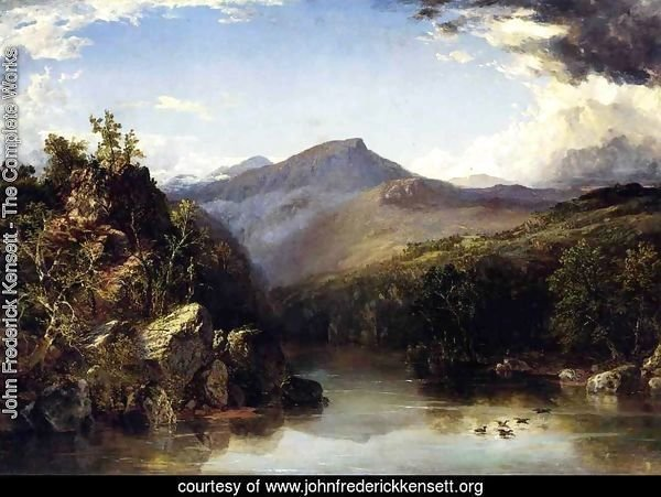 Landscape (aka A Reminiscence of the White Mountains) 1852