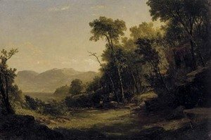 John Frederick Kensett - Afternoon in the Adirondacks