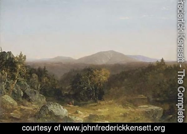 John Frederick Kensett - View of Mount Washington