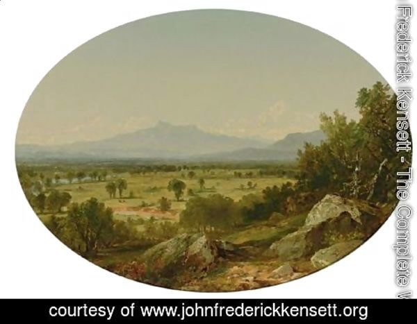 John Frederick Kensett - Landscape Mount Chocorua From Conway