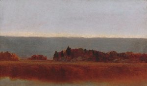 John Frederick Kensett - Salt Meadow In October