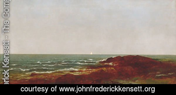 John Frederick Kensett - The Sea